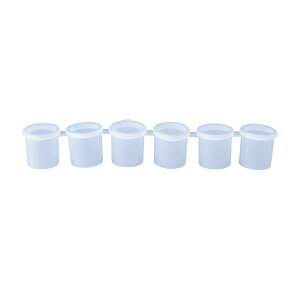 (bd257) ペイントカップ 6ピース セット 便利グッズ 保存 塗料カップ ペイントツール ぺイントカラーカップ グラフィティツール 子供用 創造力 DIY 手芸 画材 絵具 絵画用品 蓋付き
