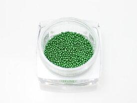 【ミニチュアパーツ】カラーブリオン グリーン ケース入り 約1000粒 ネイルやレジンに