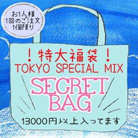 【TOKYO SPECIAL MIX】シークレットバッグ★サマージャンボ福袋 13000円以上の商品が入った特大福袋! 数量限定 お1人様1点限り
