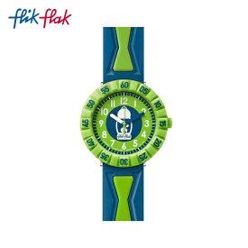 【公式ストア】Flik Flak フリックフラック GET IT IN BREEN ゲット・イット・イン・ブリーン FCSP062Swatch(スウォッチ) Power Time 7+(パワータイム7+) 【送料無料】(素材)ベルト:プラスチックキッズ ボーイズ 腕時計 人気 定番 プレゼント
