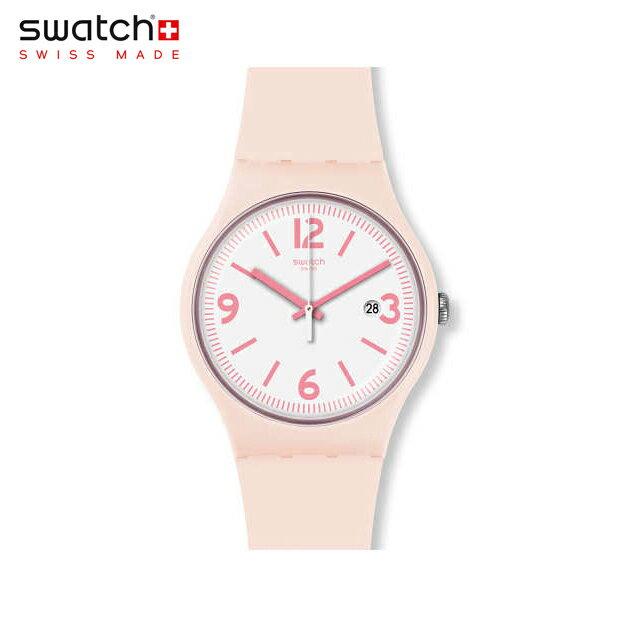 【公式ストア】Swatch スウォッチ ENGLISH ROSE イングリッシュ・ローズ SUOP400Originals(オリジナルズ) New Gent(ニュージェント) 【送料無料】(素材)ベルト:シリコン ケース:プラスチックレディース 腕時計 人気 定番 プレゼント