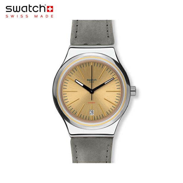 【公式ストア】Swatch スウォッチ SISTEM SAND システム・サンド YIS411Irony(アイロニー) Sistem 51 Irony(システム51アイロニー) 【送料無料】(素材)ベルト:レザー ケース:ステンレススチールメンズ 腕時計 人気 定番 プレゼント