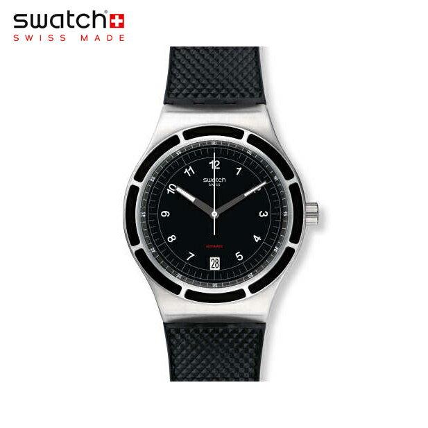 【公式ストア】Swatch スウォッチ SISTEM DARK システム・ダーク YIS413Irony(アイロニー) Sistem 51 Irony(システム51アイロニー) 【送料無料】(素材)ベルト:ラバー ケース:ステンレススチールメンズ 腕時計 人気 定番 プレゼント 父の日