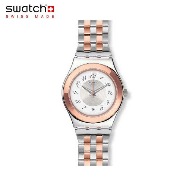 【公式ストア】Swatch スウォッチ MIDIMIX ミディミックス YLS454GIrony(アイロニー) Irony Medium(アイロニーミディアム) 【送料無料】(素材)ベルト:ステンレススチール(調節可能) ケース:ステンレススチールレディース 腕時計 人気 定番 プレゼント
