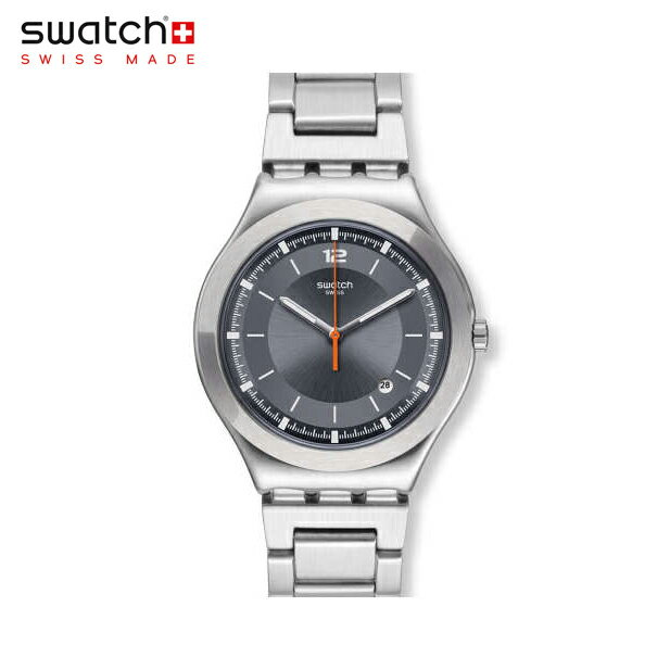 【公式ストア】Swatch スウォッチ FLATTERING フラタリング YWS425GIrony(アイロニー) Irony Big Classic(アイロニービッグクラシック) 【送料無料】(素材)ベルト:ステンレススチール(調節可能)メンズ/腕時計/人気/定番/プレゼント