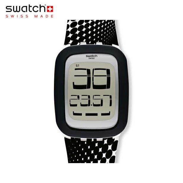 【公式ストア】Swatch スウォッチ PSYCHOTOUCH サイコタッチ SURW116Digital(デジタル) Touch(タッチ) 【送料無料】(素材)ベルト:シリコン/ケース:プラスチックメンズ/レディース/腕時計/人気/定番/プレゼント