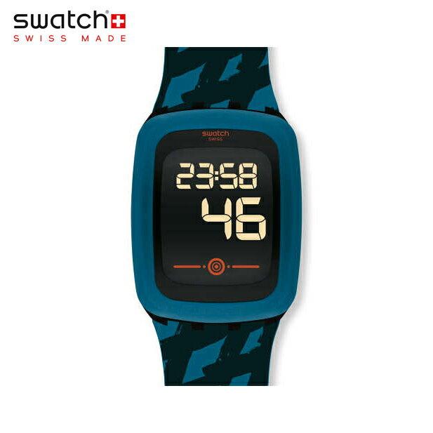 【公式ストア】Swatch スウォッチ PETROZERO2 ペトロゼロ2 SVQB100Digital(デジタル) Touch Zero Two(タッチゼロツー) 【送料無料】(素材)ベルト:シリコン/ケース:プラスチックメンズ/腕時計/人気/定番/プレゼント