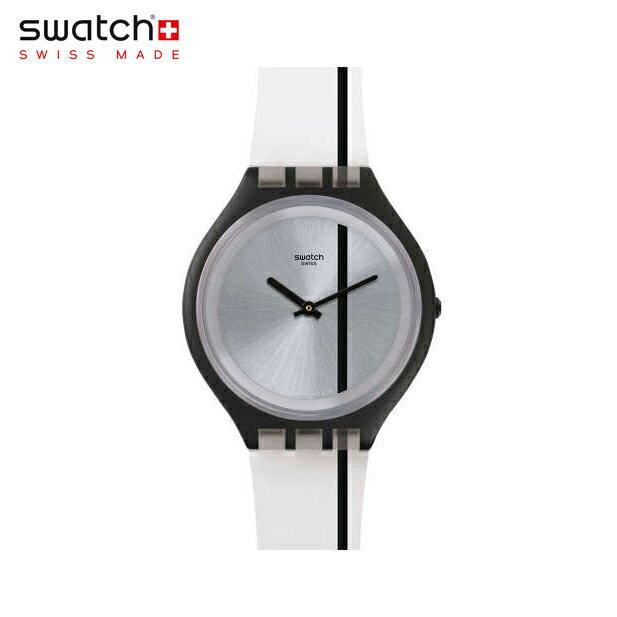【公式ストア】Swatch スウォッチ SKINTHROUGH スキンスルー SVUB102Skin(スキン) Skin Big(スキンビッグ) 【送料無料】(素材)ベルト:シリコン/ケース:プラスチックメンズ/腕時計/人気/定番/プレゼント