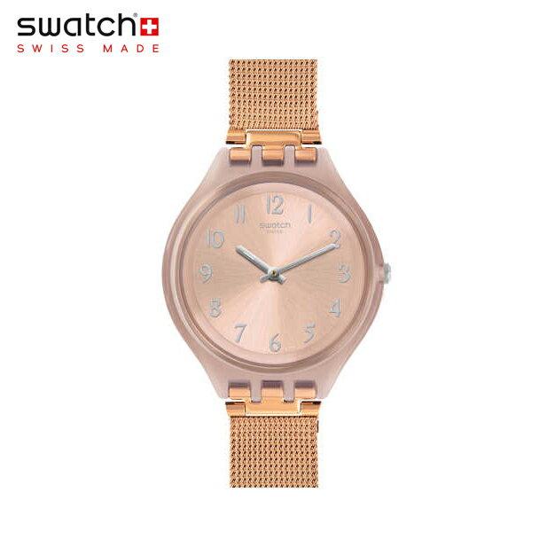 【公式ストア】Swatch スウォッチ SKINCHIC スキンシック SVUP100MSkin(スキン) Skin Big(スキンビッグ) 【送料無料】(素材)ベルト:ミラネーゼ/ケース:プラスチックレディース/腕時計/人気/定番/プレゼント