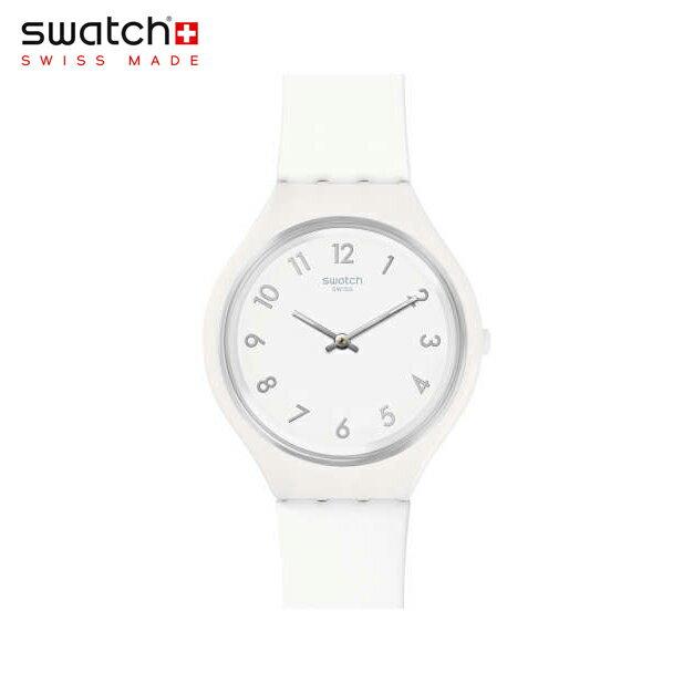 【公式ストア】Swatch スウォッチ SKINSNOW スキンスノー SVUW101Skin(スキン) Skin Big(スキンビッグ) 【送料無料】(素材)ベルト:シリコン/ケース:プラスチックメンズ/レディース/腕時計/人気/定番/プレゼント