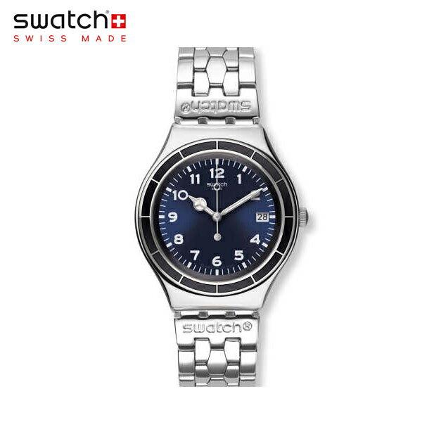 【公式ストア】Swatch スウォッチ EDGAR エドガー YGS476GIrony(アイロニー) Irony Big(アイロニービッグ) 【送料無料】(素材)ベルト:ステンレススチール(調節可能) ケース:ステンレススチールメンズ 腕時計 人気 定番 プレゼント 父の日 Father's Day