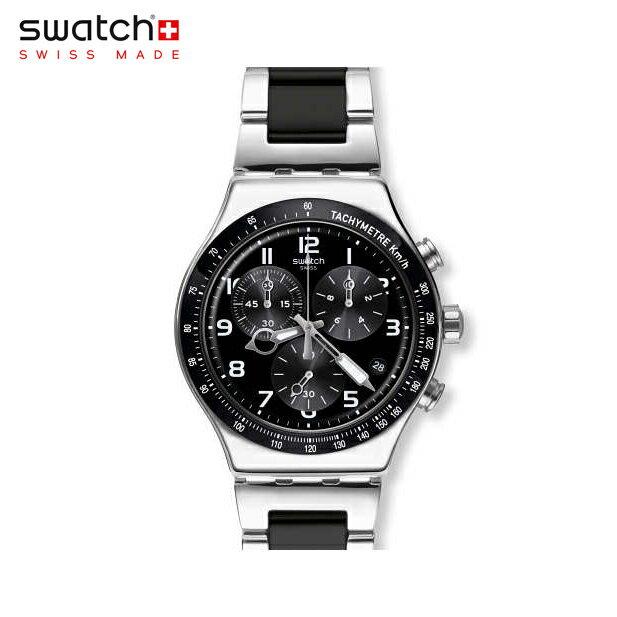 【公式ストア】Swatch スウォッチ SPEED UP スピード・アップ YVS441GIrony(アイロニー) New Irony Chrono(ニューアイロニークロノ) 【送料無料】(素材)ベルト:ステンレススチール(調節可能)メンズ 腕時計 人気 定番 プレゼント 父の日 Father's Day