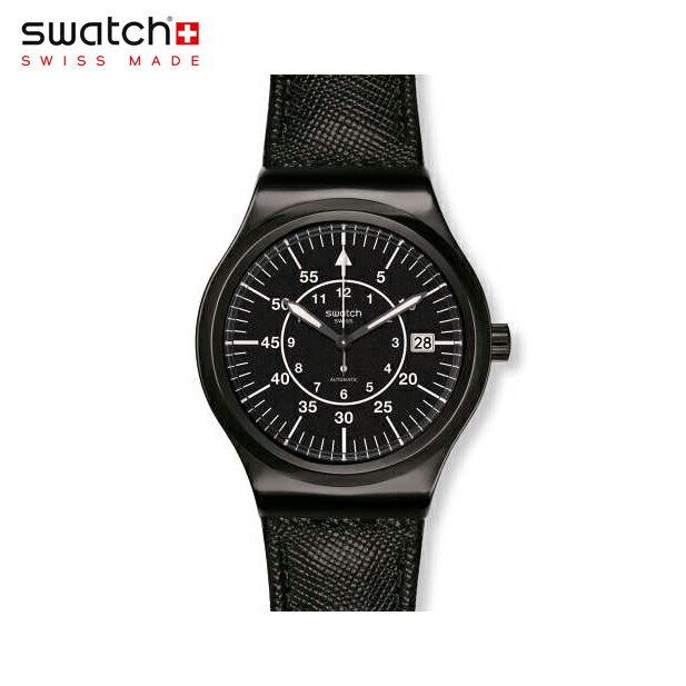 【公式ストア】Swatch スウォッチ SISTEM SLATE システム・スレイト YIB400Irony(アイロニー) Sistem51 Irony(システム51アイロニー) 【送料無料】(素材)ベルト:レザー ケース:ステンレススチールメンズ 腕時計 人気 定番 プレゼント