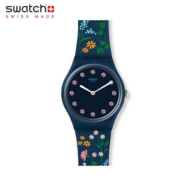 【公式ストア】Swatch スウォッチ FLOWER CARPET フラワー・カーペット GN256Originals(オリジナルズ) Gent(ジェント) 【送料無料】(素材)ベルト:シリコン ケース:プラスチックレディース 腕時計 人気 定番 プレゼント 花柄