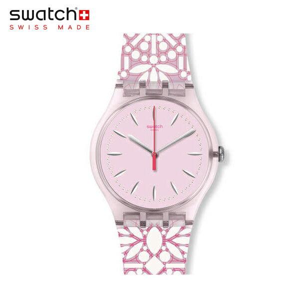 【公式ストア】Swatch スウォッチ FLEURIE フルーリー SUOP109Originals(オリジナルズ) New Gent(ニュージェント) 【送料無料】(素材)ベルト:シリコン ケース:プラスチックレディース 腕時計 人気 定番 プレゼント