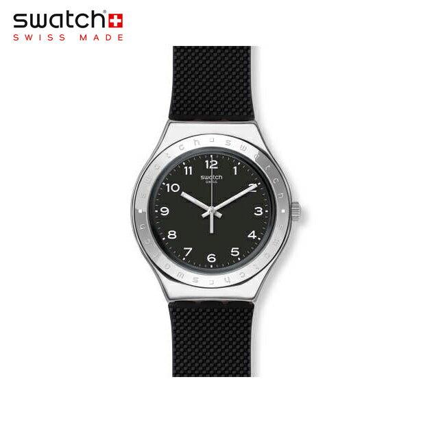 【公式ストア】Swatch スウォッチ CHARBON シャルボン YGS137Irony(アイロニー) Irony Big(アイロニービッグ) 【送料無料】(素材)ベルト:シリコン ケース:ステンレススチールメンズ 腕時計 人気 定番 プレゼント 父の日