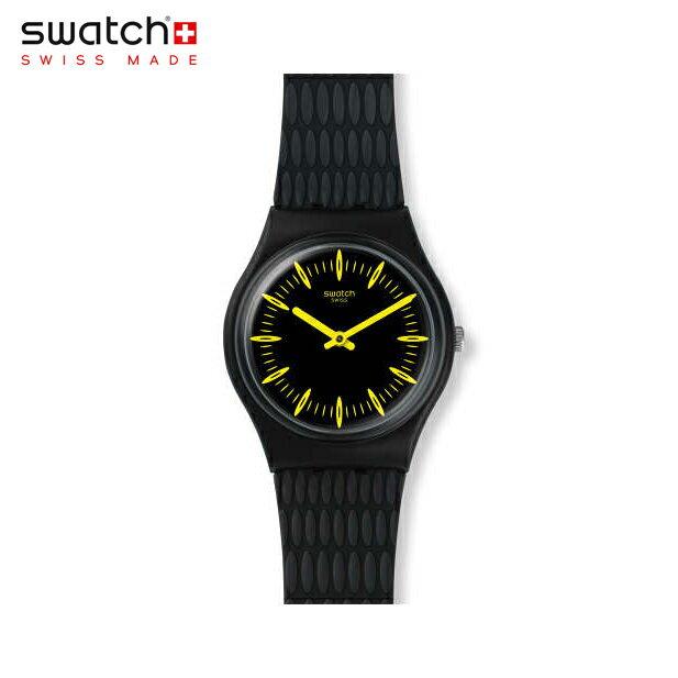 【公式ストア】Swatch スウォッチ GIALLONERO ギアロネーロ GB304Originals(オリジナルズ) Gent(ジェント) 【送料無料】(素材)ベルト:シリコン ケース:プラスチックメンズ 腕時計 人気 定番 プレゼント