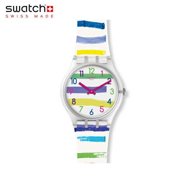 【公式ストア】Swatch スウォッチ COLORLAND カラーランド GE254Originals(オリジナルズ) Gent(ジェント) 【送料無料】(素材)ベルト:シリコン ケース:プラスチックレディース 腕時計 人気 定番 プレゼント