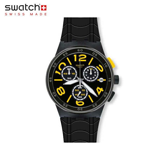 【公式ストア】Swatch スウォッチ PNEUMATIC プネウマティック SUSB412Originals(オリジナルズ) New Chrono Plastic(ニュークロノプラスチック) 【送料無料】(素材)ベルト:シリコン ケース:プラスチックメンズ 腕時計 人気 定番 プレゼント