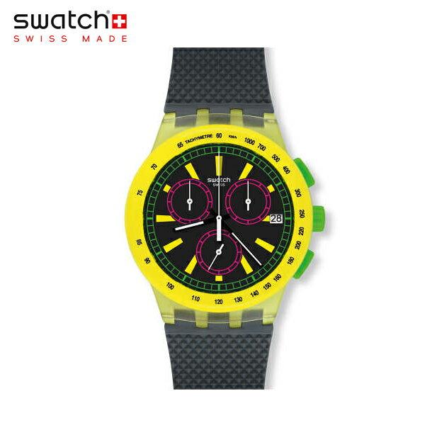 【公式ストア】Swatch スウォッチ YEL-LOL イェル・エルオーエル SUSJ402Originals(オリジナルズ) New Chrono Plastic(ニュークロノプラスチック) 【送料無料】(素材)ベルト:シリコン ケース:プラスチックメンズ 腕時計 人気 定番 プレゼント
