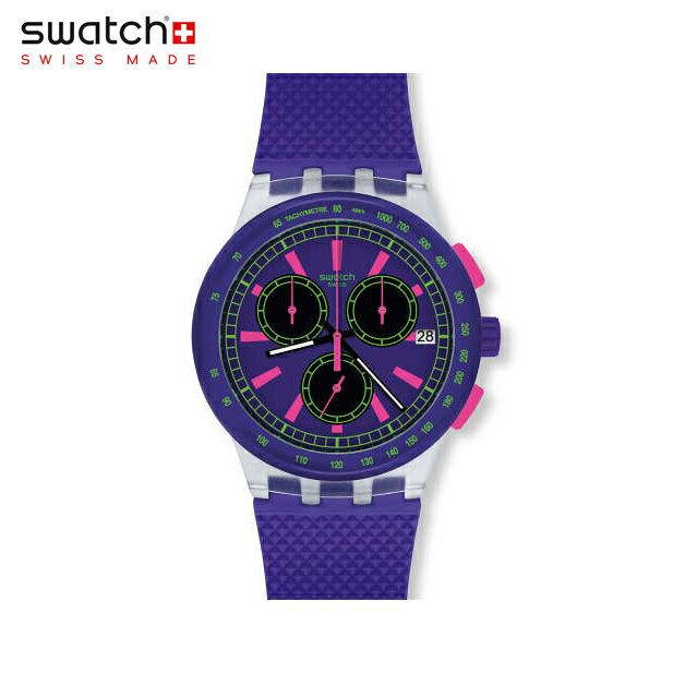 【公式ストア】Swatch スウォッチ PURP-LOL パープ・エルオーエル SUSK400Originals(オリジナルズ) New Chrono Plastic(ニュークロノプラスチック) 【送料無料】(素材)ベルト:シリコン ケース:プラスチックメンズ 腕時計 人気 定番 プレゼント