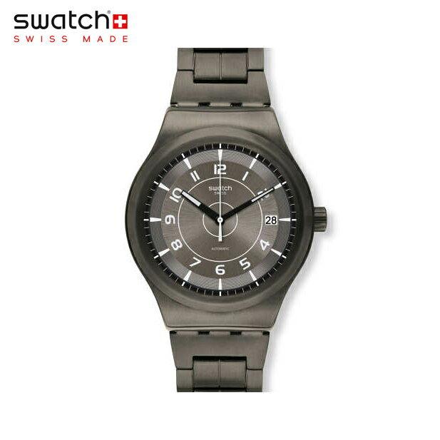 【公式ストア】Swatch スウォッチ SISTEM BRUSHED システム・ブラッシュド YIM400GIrony(アイロニー) Sistem51 Irony(システム51アイロニー) 【送料無料】(素材)ベルト:ステンレススチール(調整可能)メンズ 腕時計 人気 定番 プレゼント
