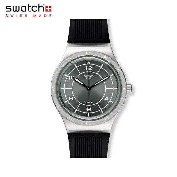 【公式ストア】Swatch スウォッチ SISTEM RUB システム・ラブ YIS419Irony(アイロニー) Sistem51 Irony(システム51アイロニー) 【送料無料】(素材)ベルト:ラバー ケース:ステンレススチールメンズ 腕時計 人気 定番 プレゼント 父の日