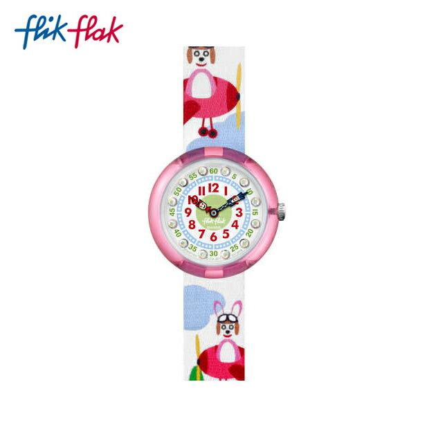 【公式ストア】Flik Flak フリックフラック HOPP ON A PLANE ホップ ・オン ・ア ・プレーン FBNP104Swatch(スウォッチ) Story Time(ストーリータイム) 【送料無料】(素材)ベルト:繊維 ケース:プラスティックキッズ ガールズ 腕時計 人気 定番 プレゼント