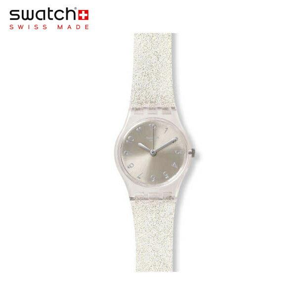 【公式ストア】Swatch スウォッチ SILVER GLISTAR TOO? シルバー・グリスター・トゥー LK343EOriginals(オリジナルズ) Lady(レディ) 【送料無料】(素材)ベルト:シリコン ケース:プラスティックレディース 腕時計 人気 定番 プレゼント