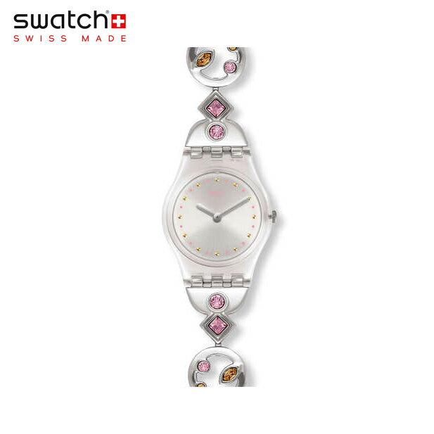 【公式ストア】Swatch スウォッチ BELLA LEI ベラ・レイ LK381GOriginals(オリジナルズ) Lady(レディ) 【送料無料】(素材)ベルト:ステンレス製(調節可能) ケース:プラスティックレディース 腕時計 人気 定番 プレゼント