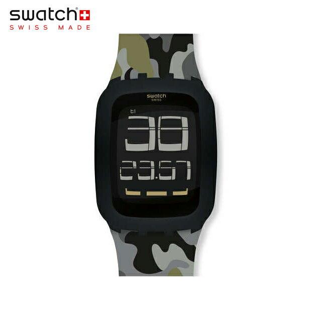 【公式ストア】Swatch スウォッチ ISWATCH INVISIBLE アイスウォッチ・インビジブル SURB119CDigital(デジタル) Tough(タッチ) 【送料無料】(素材)ベルト:シリコン ケース:プラスティックメンズ 腕時計 人気 定番 プレゼント 父の日