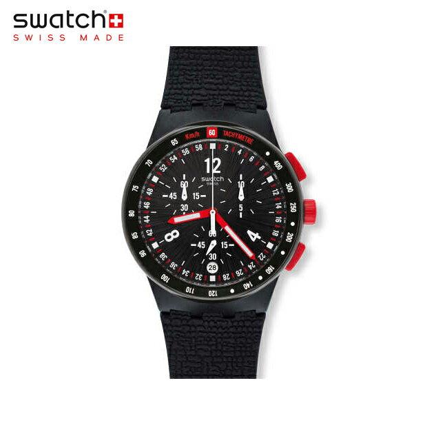 【公式ストア】Swatch スウォッチ STAND HALL スタンド・ホール SUSB411Originals(オリジナルズ) New Chrono Plastic(ニュークロノプラスチック) 【送料無料】(素材)ベルト:シリコン ケース:プラスティックメンズ 腕時計 人気 定番 プレゼント