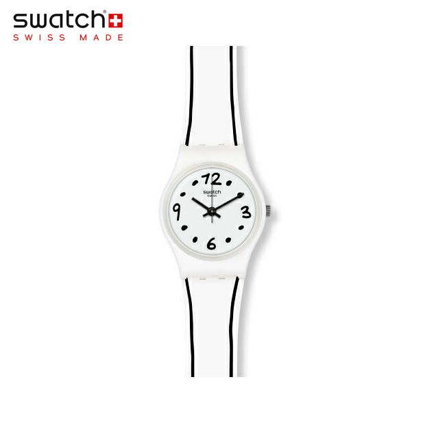 【公式ストア】Swatch スウォッチ BLACK BORDER ブラック・ボーダー LW162worldhood(worldhood) Lady(レディ) 【送料無料】(素材)ベルト:シリコン ケース:プラスチックレディース 腕時計 人気 定番 プレゼント
