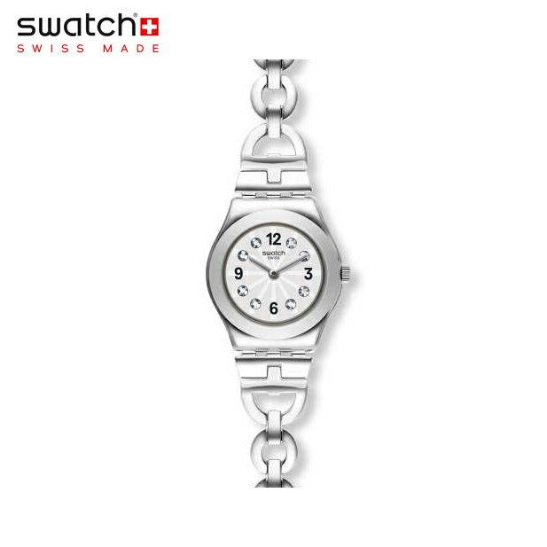 【公式ストア】Swatch スウォッチ NETURAL ネチュラル YSS323Girony(アイロニー) Irony Lady(アイロニーレディ) 【送料無料】(素材)ベルト:ステンレス製(調節可能) ケース:ステンレススチールレディース 腕時計 人気 定番 プレゼント