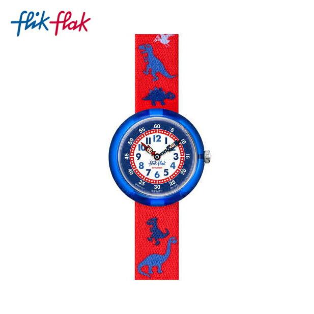 【公式ストア】Flik Flak フリックフラック DINOSAURITOS ダイナソリトス FBNP117Swatch(スウォッチ) Story Time(ストーリータイム) 【送料無料】(素材)ベルト:繊維 ケース:プラスチックキッズ ボーイズ 腕時計 人気 定番 プレゼント