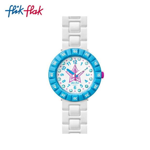 【公式ストア】Flik Flak フリックフラック ROSE ETOILEE ローズ・エトワレー FCSP075Swatch(スウォッチ) Power Time 7+(パワータイム7+) 【送料無料】(素材)ベルト:プラスチック(ビニール)製キッズ ガールズ 腕時計 人気 定番 プレゼント