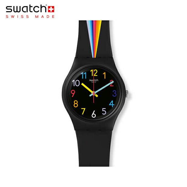 【公式ストア】Swatch スウォッチ FOUNTAIN OF COLORS ファンテンオブカラーズ GB311Originals(オリジナルズ) Gent(ジェント) 【送料無料】(素材)ベルト:シリコン ケース:プラスチックメンズ レディース 腕時計 人気 定番 プレゼント