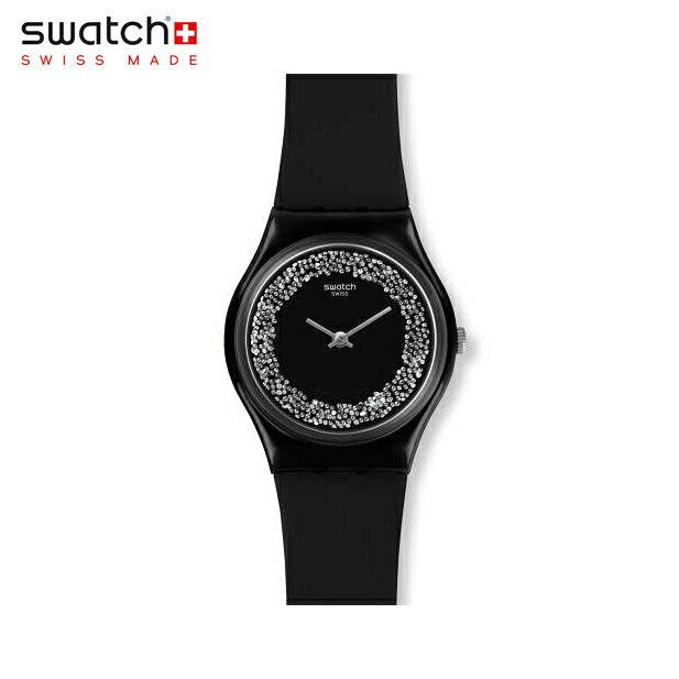 【公式ストア】Swatch スウォッチ SPARKLENIGHT スパークルナイト GB312Originals(オリジナルズ) Gent(ジェント) 【送料無料】(素材)ベルト:シリコン ケース:プラスチックレディース 腕時計 人気 定番 プレゼント