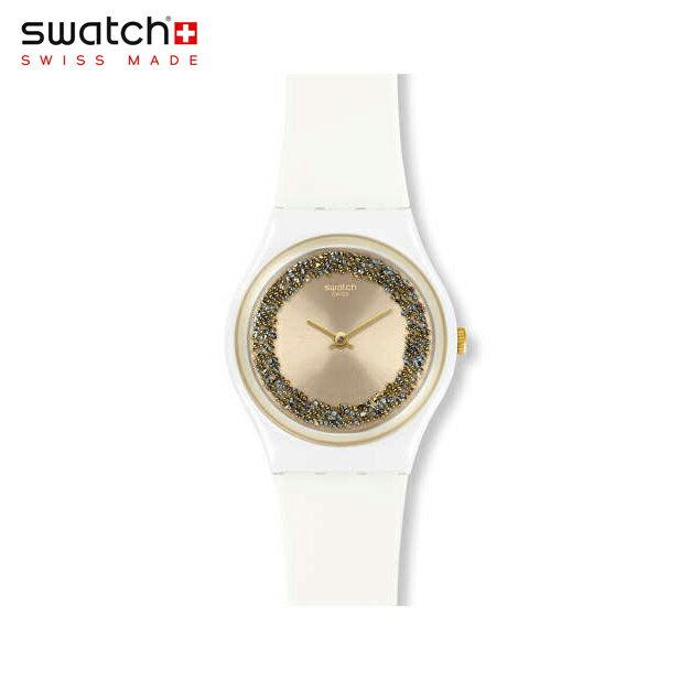 【公式ストア】Swatch スウォッチ SPARKLELIGHT スパークルライト GW199Originals(オリジナルズ) Gent(ジェント) 【送料無料】(素材)ベルト:シリコン ケース:プラスチックレディース 腕時計 人気 定番 プレゼント