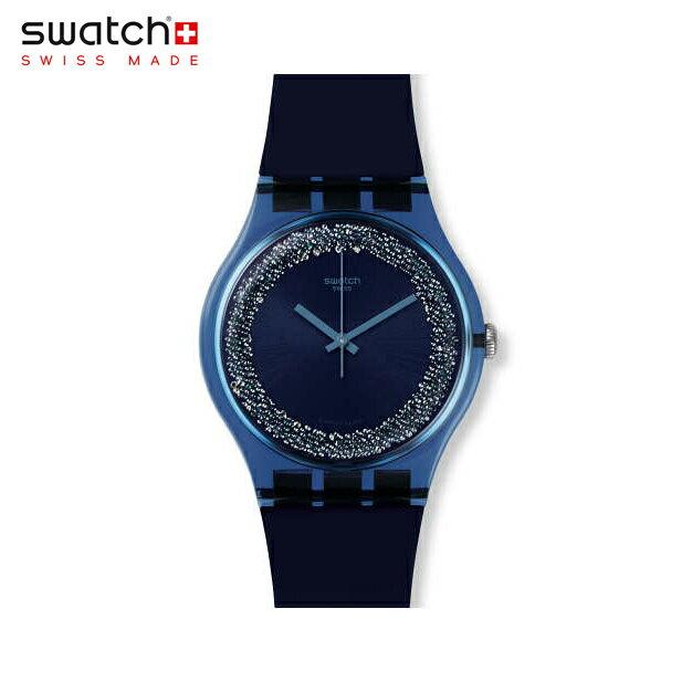 【公式ストア】Swatch スウォッチ BLUSPARKLES ブルースパークルズ SUON134Originals(オリジナルズ) New Gent(ニュージェント) 【送料無料】(素材)ベルト:シリコン ケース:プラスチックレディース 腕時計 人気 定番 プレゼント