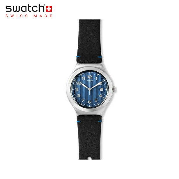 【公式ストア】Swatch スウォッチ COTES BLUES コートブルー YWS438Irony(アイロニー) Irony Big Classic(アイロニービッグクラシック) 【送料無料】(素材)ベルト:皮革 ケース:ステンレススチールメンズ 腕時計 人気 定番 プレゼント