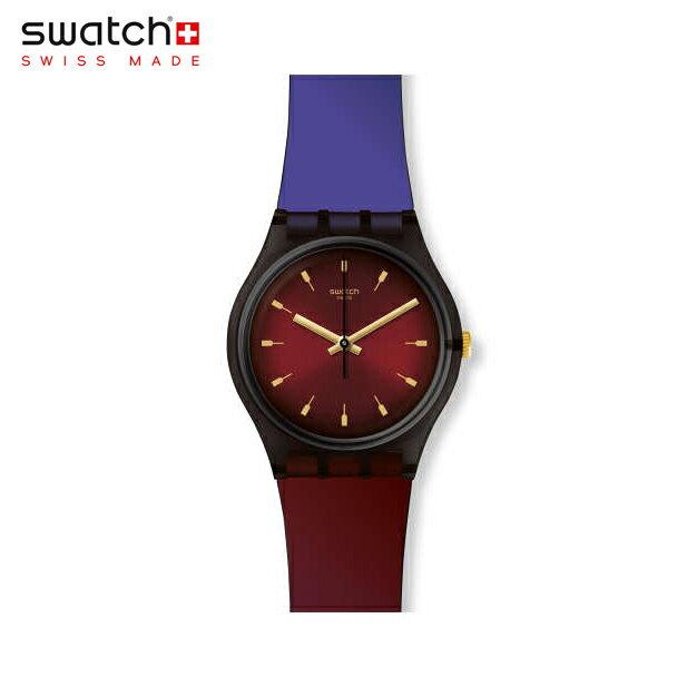 【公式ストア】Swatch スウォッチ PUREPURPLE ピュアパープル GB308Originals(オリジナルズ) Gent(ジェント) 【送料無料】(素材)ベルト:シリコン ケース:プラスティックレディース 腕時計 人気 定番 プレゼント