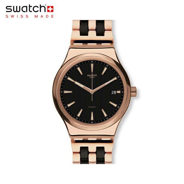 【公式ストア】Swatch スウォッチ SISTEM DAFNE システム・ダフネ YIG400GIRONY(アイロニー) Sistem51 Irony(システム51アイロニー) 【送料無料】(素材)ベルト:ステンレス製(調節可能) ケース:ステンレススチールメンズ 腕時計 人気 定番 プレゼント