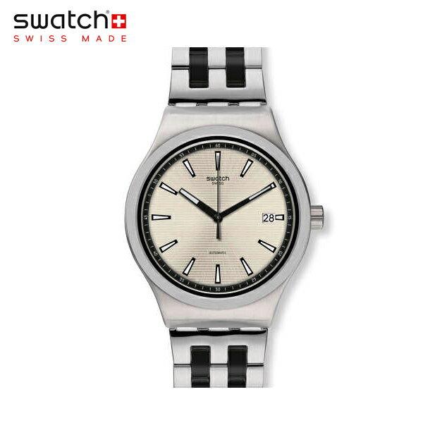 【公式ストア】Swatch スウォッチ SISTEM SILVERLINE システム・シルバーライン YIS424GIRONY(アイロニー) Sistem51 Irony(システム51アイロニー) 【送料無料】(素材)ベルト:ステンレス製(調節可能)メンズ 腕時計 人気 定番 プレゼント 父の日