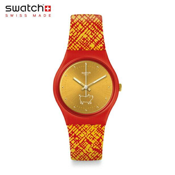 【公式ストア】Swatch スウォッチ GEM OF NEW YEAR ジェムオブニューイヤー GZ319Originals(オリジナルズ) Gent(ジェント) 【送料無料】(素材)ベルト:シリコン ケース:プラスチックメンズ レディース 腕時計 人気 定番 プレゼント