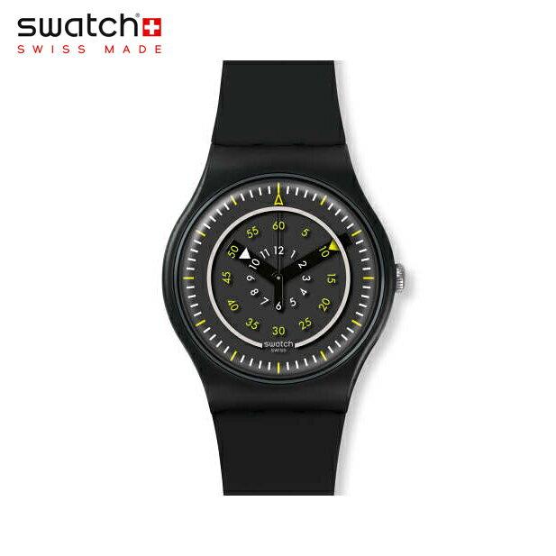 【公式ストア】Swatch スウォッチ PIÙ NERO ピュー・ネロ SUOB157Originals(オリジナルズ) New Gent(ニュージェント) 【送料無料】(素材)ベルト:シリコン ケース:プラスティックメンズ 腕時計 人気 定番 プレゼント