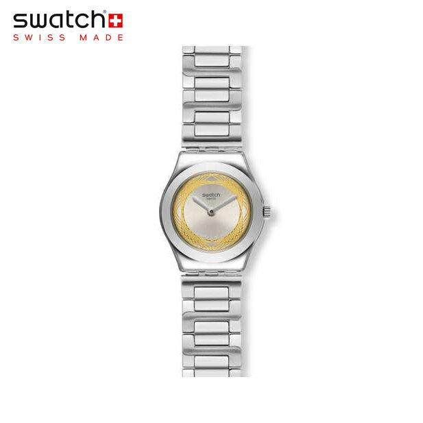 【公式ストア】Swatch スウォッチ GOLDEN RING ゴールデンリング YSS328GIrony(アイロニー) Irony Lady(アイロニーレディ) 【送料無料】(素材)ベルト:ステンレス製(調節可能) ケース:ステンレススチールレディース 腕時計 人気 定番 プレゼント