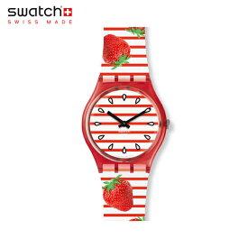 【公式ストア】Swatch スウォッチ TOILE FRAISEE トワル フレージー GR177Originals(オリジナルズ) Gent(ジェント) 【送料無料】(素材)ベルト:シリコン ケース:プラスティックメンズ レディース 腕時計 人気 定番 プレゼント