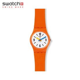 【公式ストア】Swatch スウォッチ SORANGE ソーオレンジ LO114Originals(オリジナルズ) LADY(レディー) 【送料無料】(素材)ベルト:シリコン ケース:プラスティックメンズ レディース 腕時計 人気 定番 プレゼント
