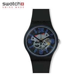 【公式ストア】Swatch スウォッチ BLUEBOOST ブルーブースト SUOB165Originals(オリジナルズ) NEW GENT(ニュー・ジェント) 【送料無料】(素材)ベルト:シリコン ケース:プラスティックメンズ レディース 腕時計 人気 定番 プレゼント